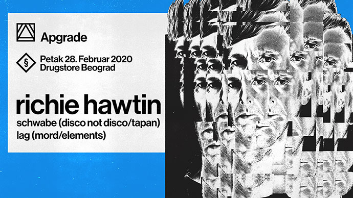 Richie Hawtin Schwabe Lag Apgrade Drugstore