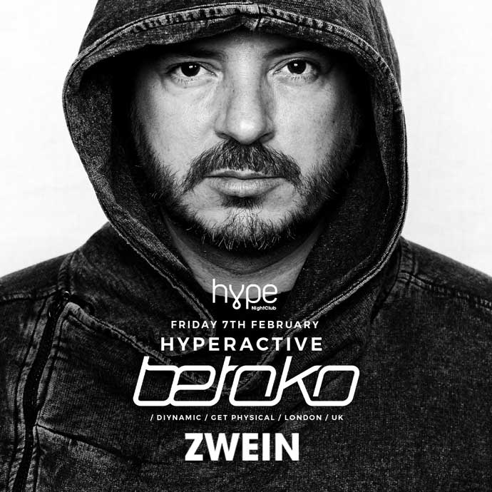 Betoko Zwein Hype Hyperactive