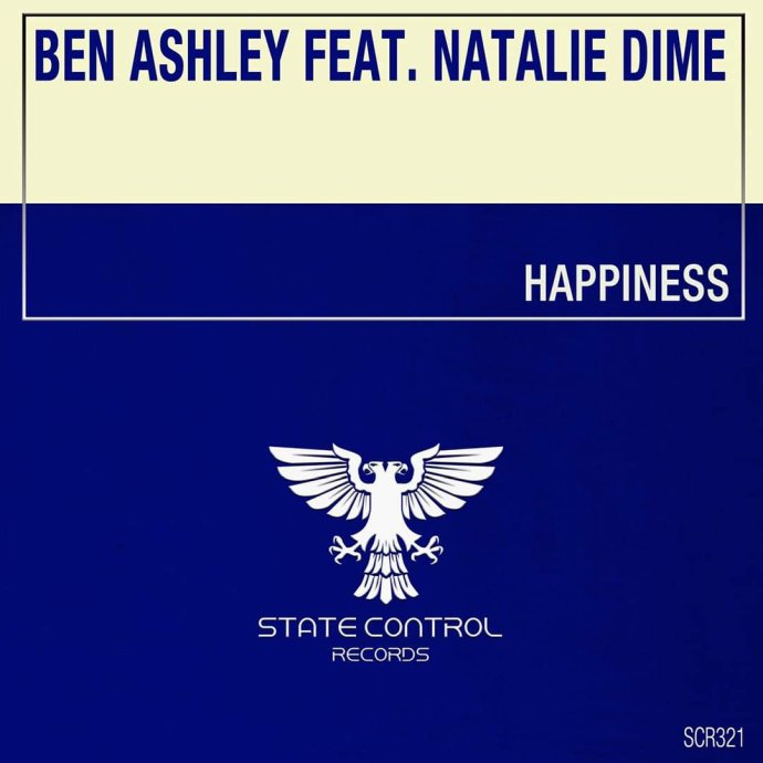 Ben Ashley Feat Natalie Dime - Happiness 2020 cover