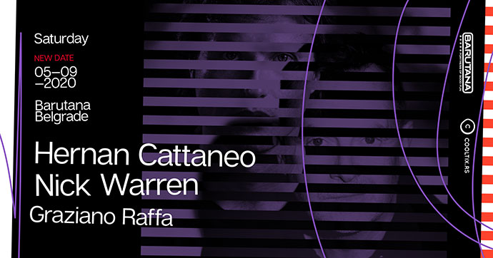 Hernan Cattaneo Nick Warren Barutana Septembar 2020