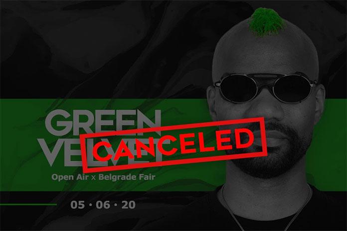 Topljenje Green Velvet Sajam otkazano