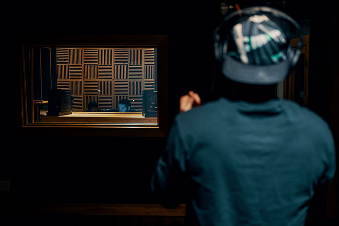 Recording Studio by Brett Sayles