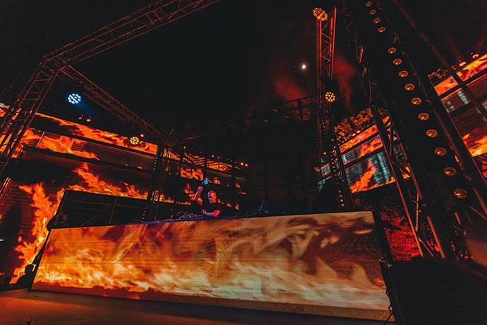 Ben Klock EXIT festival Life Stream
