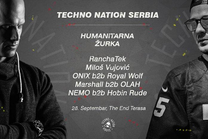 Humanitarna zurka za Aniku The End Novi Sad