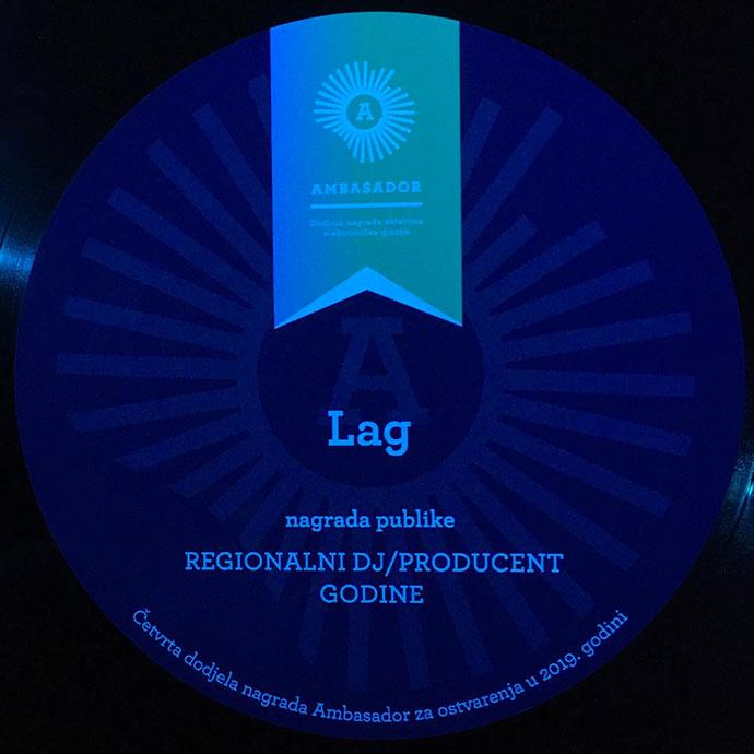 Lag Ambasador 2019 najbolji regionalni DJ producent