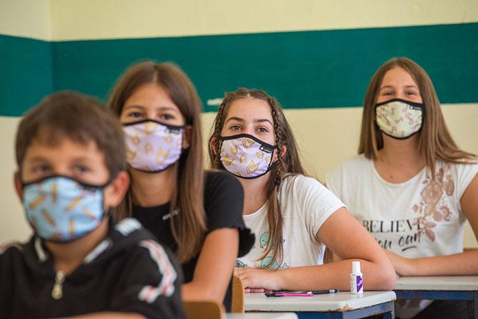 Lovefest maske osnovna skola Popinski Borci