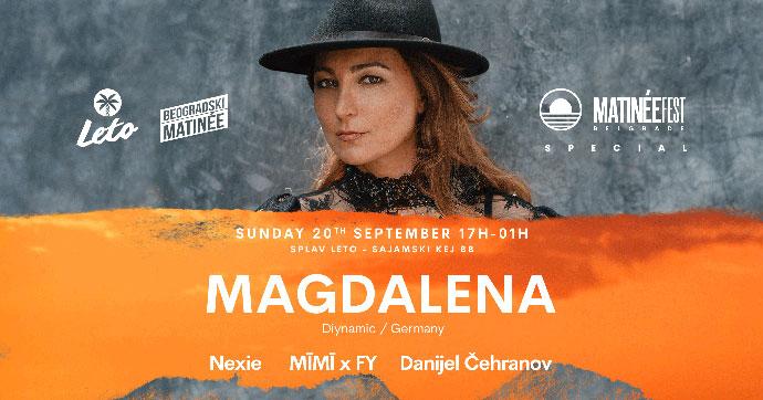 Magdalena Nexie Danijel Cehranov splav Leto