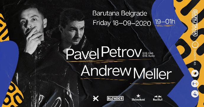Pavel Petrov Andrew Meller Barutana 2020