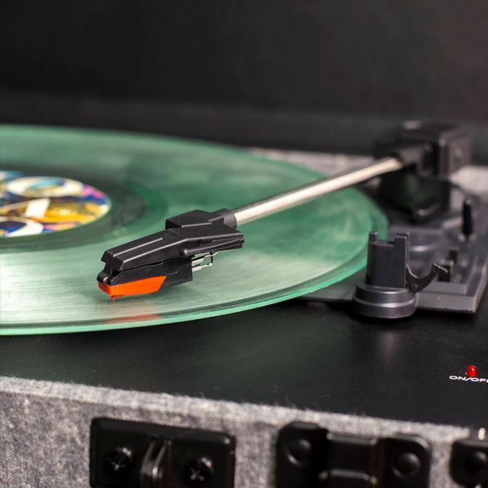 Crosley Executive Smoke gramofon i ploca