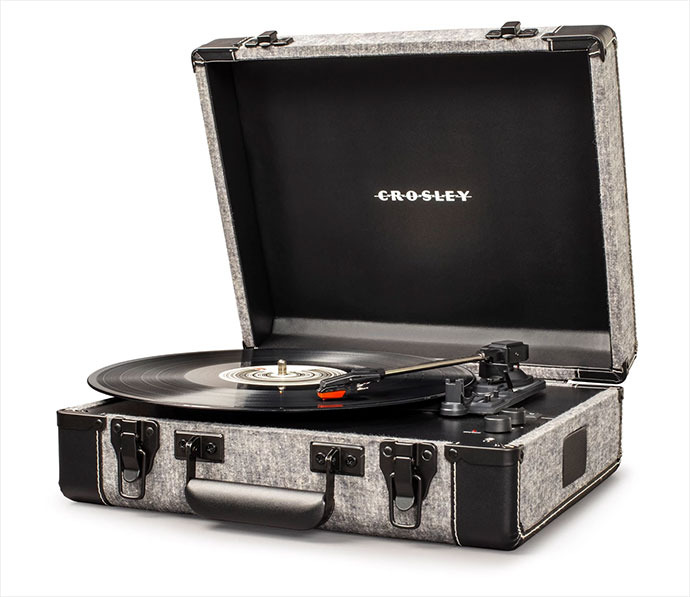 Crosley Executive Smoke gramofon
