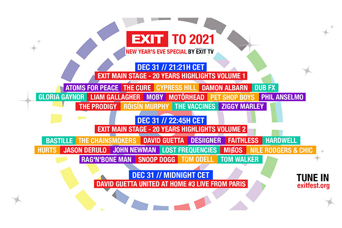 EXIT 2021 Nova godina Stream