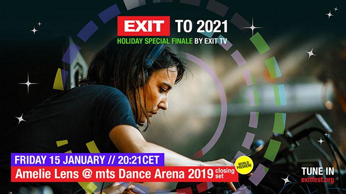 EXIT 2021 Amelie Lens