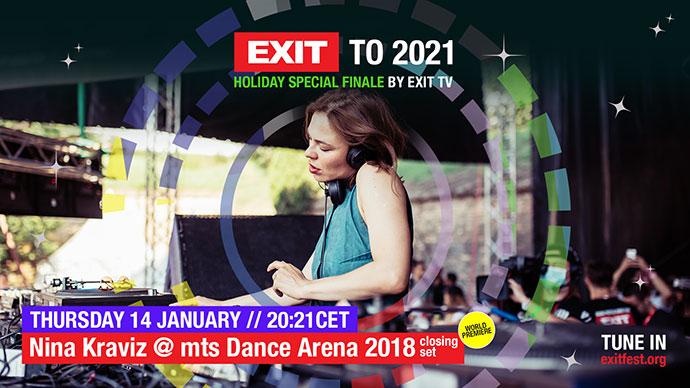 EXIT 2021 Nina Kraviz