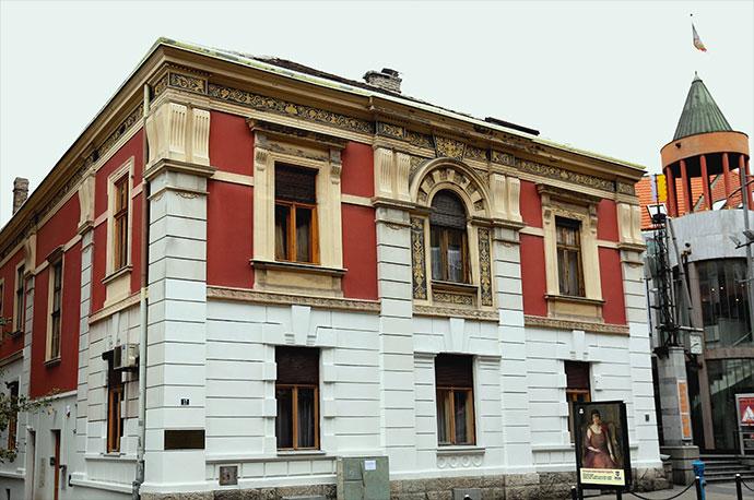 Dom Jevrema Grujica Diskoteka kod Laze Secera