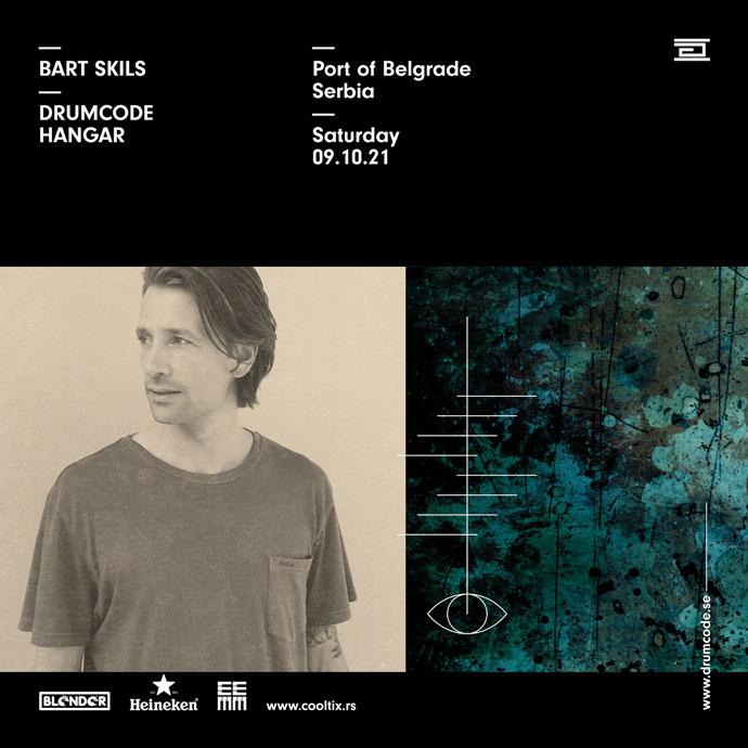 Bart Skils Drumcode Blender Hangar oktobar 2021