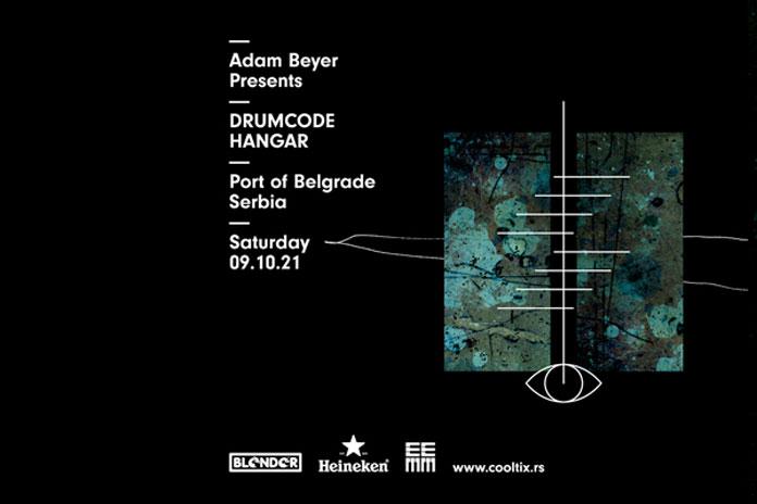 Drumcode Showcase Blender Hangar oktobar 2021