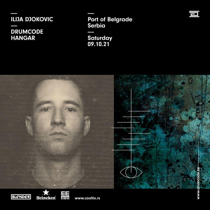 Ilija Djokovic Drumcode Blender Hangar oktobar 2021