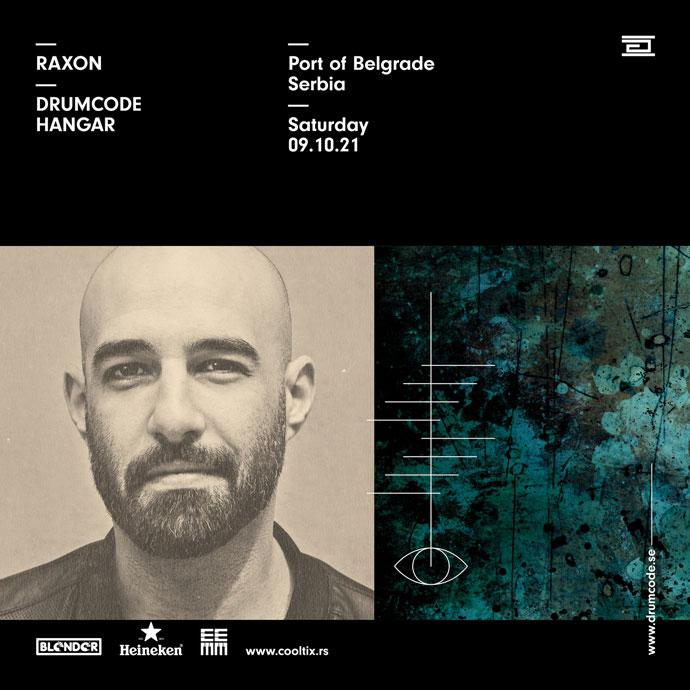 Raxon Drumcode Blender Hangar oktobar 2021