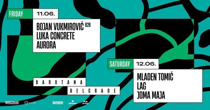 Barutana 2021 Concrete DJz Mladen Tomic