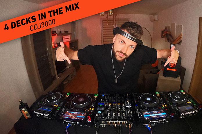 Vandal Steve 4 Decks In The Mix Pioneer CDJ 3000