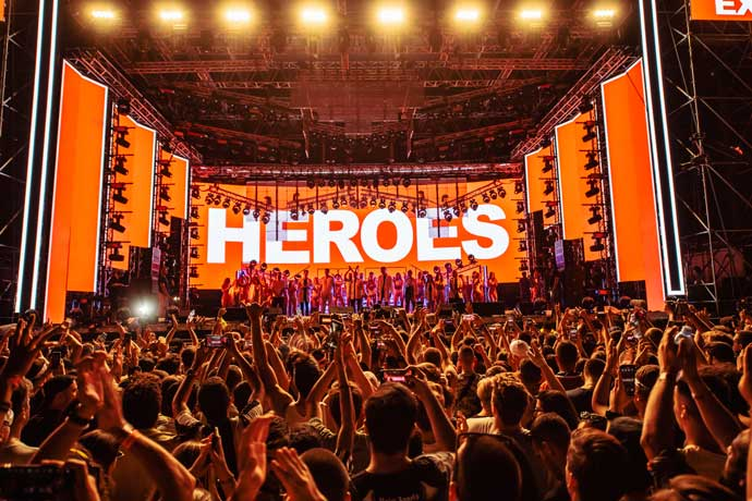 EXIT festival 2021 Heroes by Benny - Take A Moment