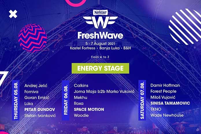 Fresh Wave Festival Energy Stage 2021