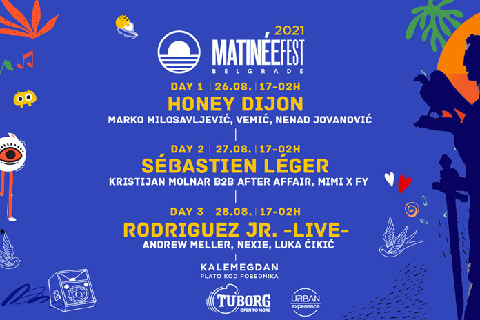 Matinee fest 2021 line up
