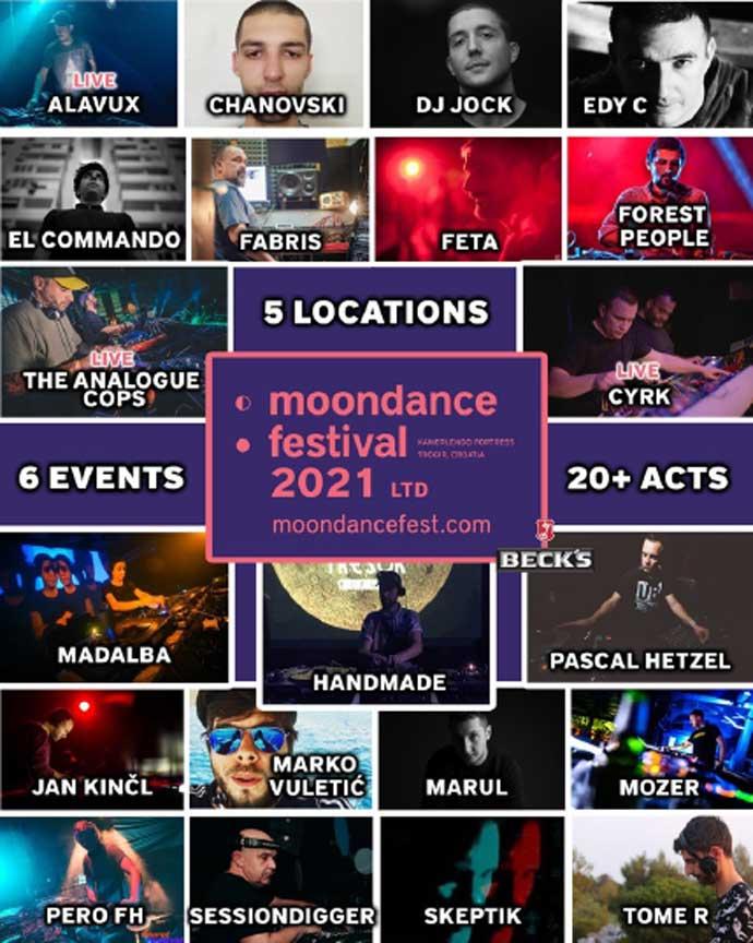 Moondance festival 2021 Line Up