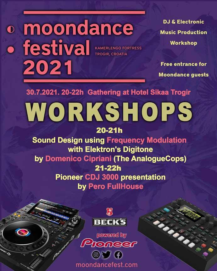 Moondance festival 2021 Workshops
