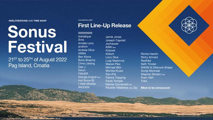 Sonus festival 2022 Line Up