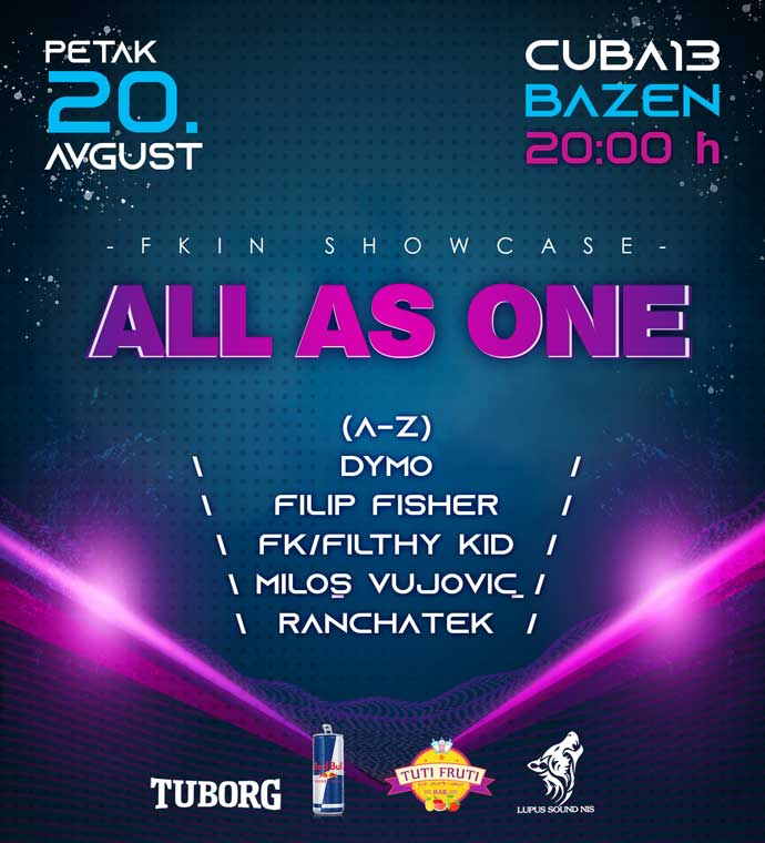 All As One Nis bazen