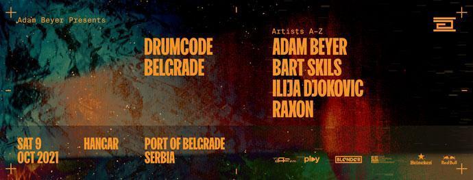 Drumcode Showcase Beograd 2021 Hangar